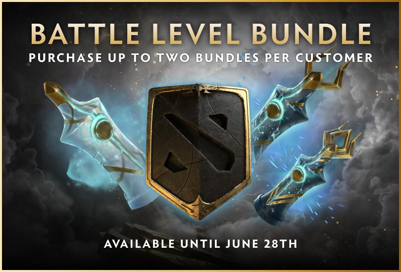 Dota 2 Battle Level Bundle Steam News
