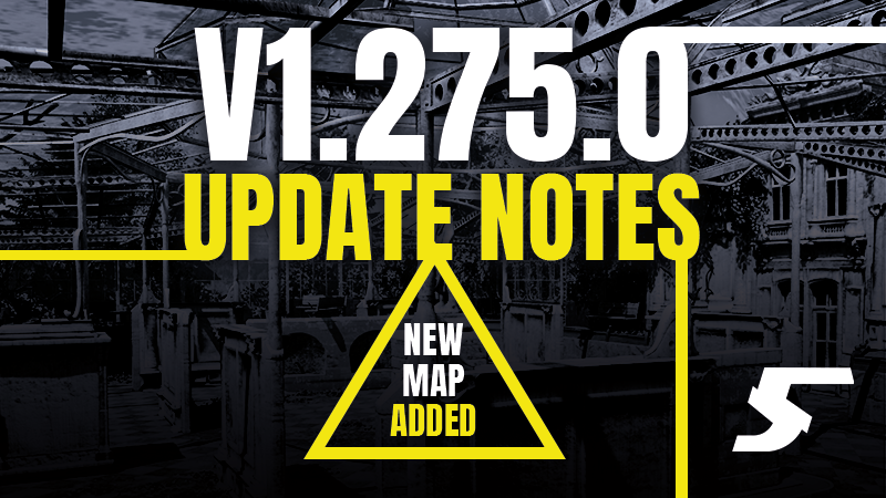 V1.275.0 Patch Notes