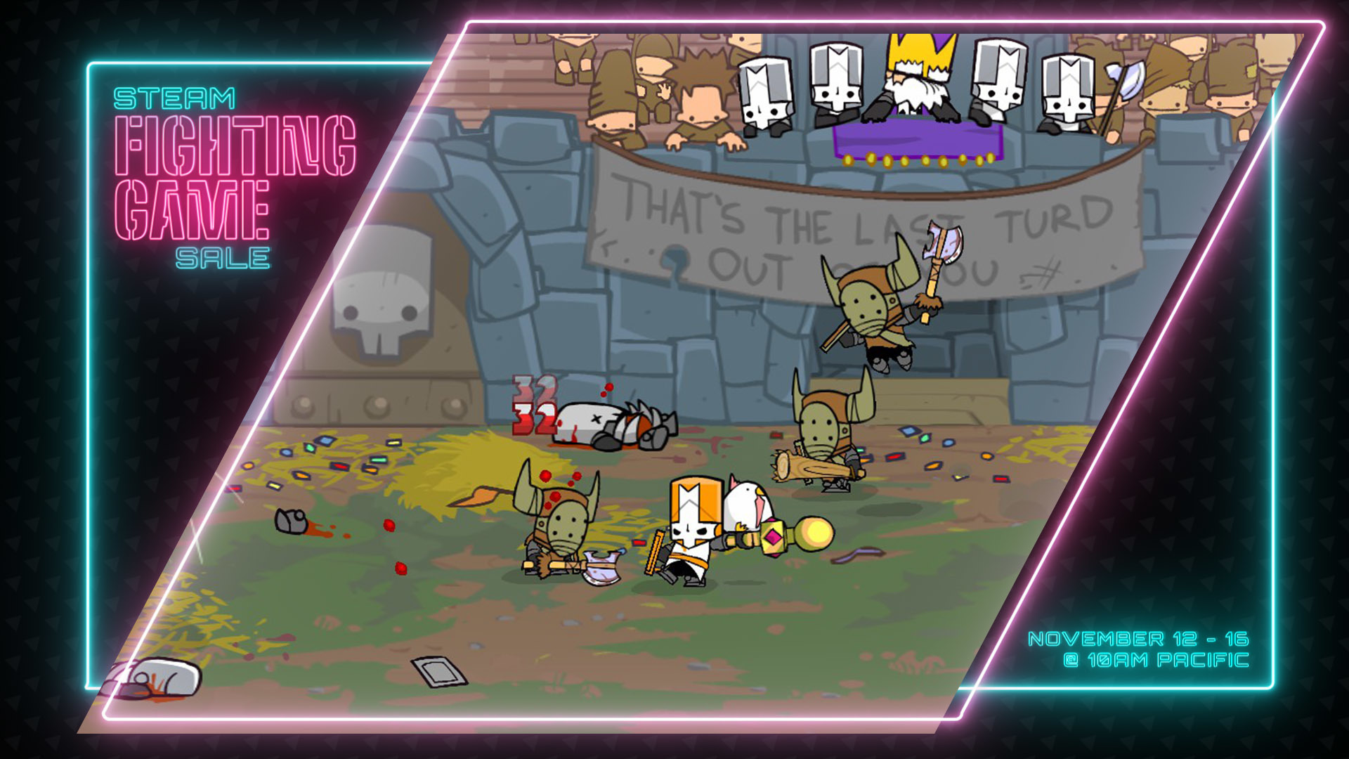 Join the Fight! Castle Crashers is on Sale on Steam