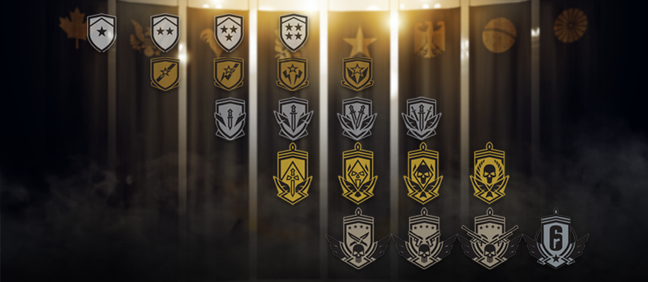Rank r6 distribution siege Rainbow Six
