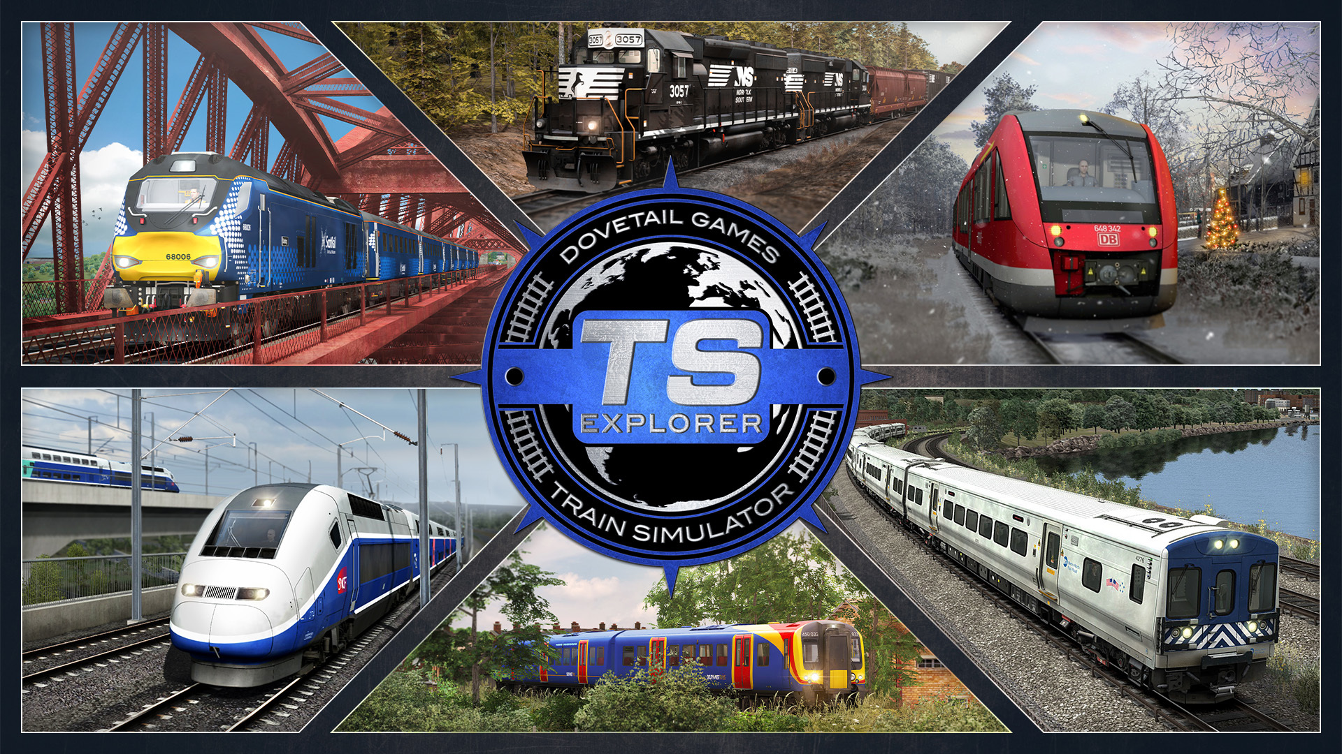 Train Simulator Explorer Collection Out Now!