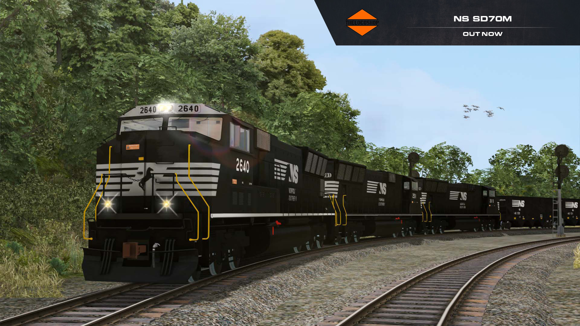 The Loco Shops' Norfolk Southern SD70M Out Now!