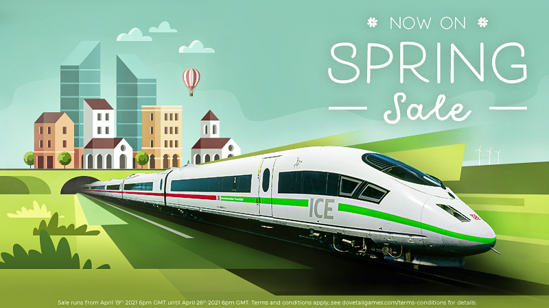 Train Simulator 21 | Spring Sale Now On!