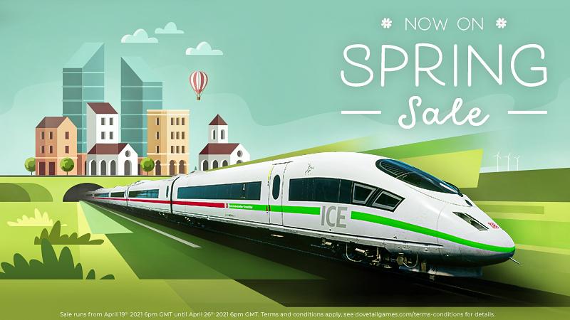 Train Simulator 21 | Spring Sale Now On!