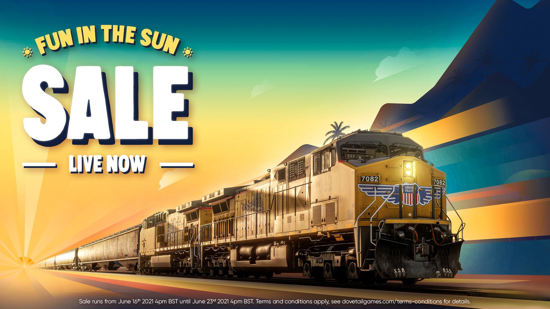 Train Simulator 21 | Fun in the Sun Now On!