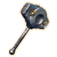 Silver Hammer Badge