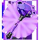 Crystal Hammer Badge