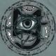 The metal pentagram of the Devil