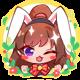 Akari cosplay foil badge
