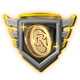 Badge niveau 100 Légendaire