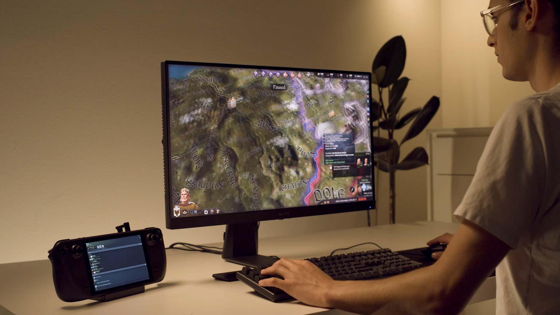 Valve сотрудничает с AMD для поддержки Windows 11 в Steam Deck